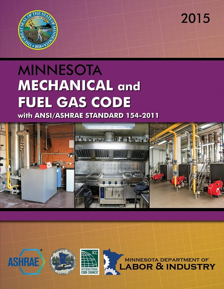 2015 Mn Mechanical Fuel Gas Code